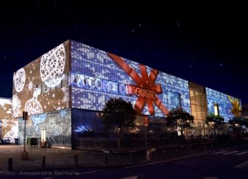 Projections on big malls