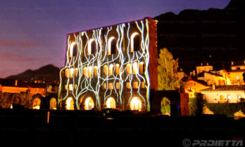 Aosta mapped projection