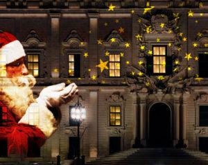 dynamische Weihnachtseffekte für Projektoren