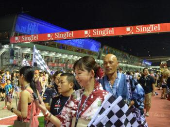 Singapore 2013 proiezioni scenografiche pubblicitarie