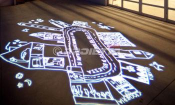 floor artistic projections