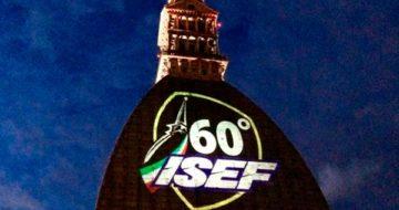 Projection logo ISEF Mole de Turin