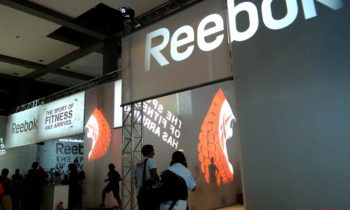 Reebok projection-fitness fair