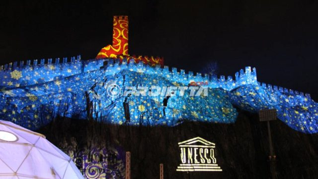 projections on castles