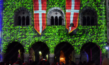 medieval themed decorative projections