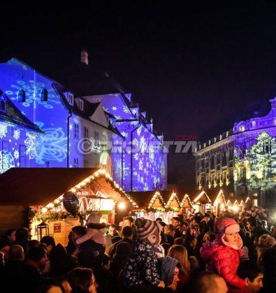 Projecteurs de Noël pour les marchés et événements