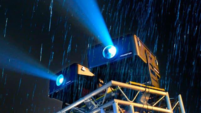 Projektoren im Freien