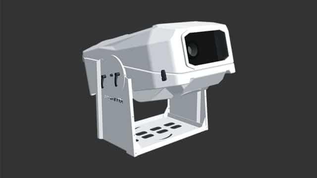 Guscio climatizzato per video proiettore exterior-25k