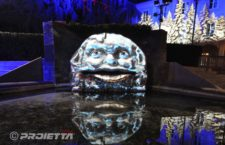 Giaveno: mascherone parlante