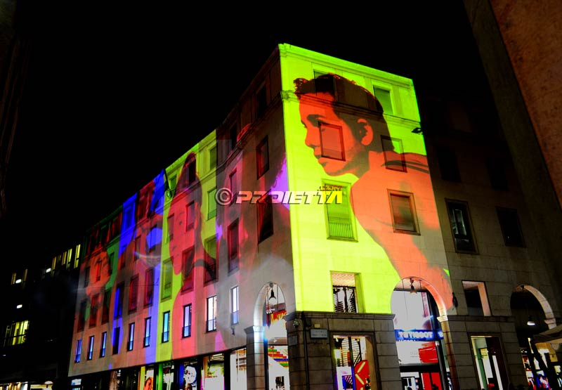Video Mapping Nike Milano