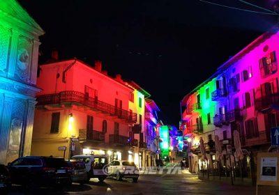 Effetti colore luce a led